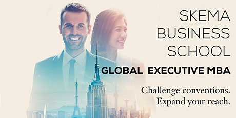 SKEMA Global Executive MBA : programme information webinar tickets