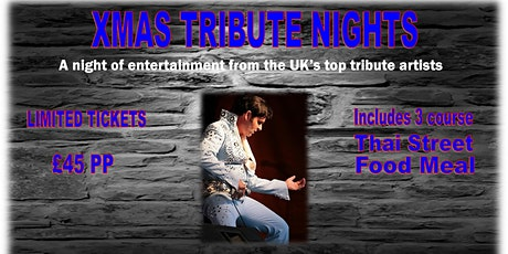 Elvis Tribute Evening tickets
