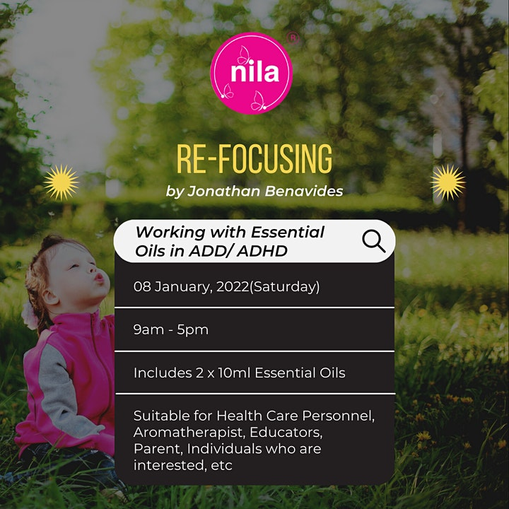 Re-Focusing: Working with Essential Oils in ADD/ADHD  by Jonathan Benavides image
