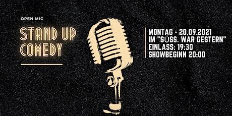 Stereo Comedy - Open Mic Show - 20.09.2021 - Im Süss.war gestern. Tickets