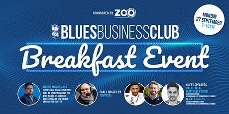 Blues Business Club Breakfast: Commonwealth Games 2022 tickets