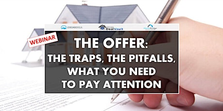 WEBINAR: The Offer: the Traps, the Pitfalls, What You Need to Pay Attention tickets