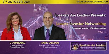 Luxury Investor Networking tickets