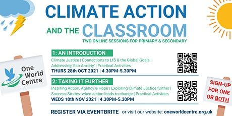 Climate Action and the Classroom:  An Introduction tickets
