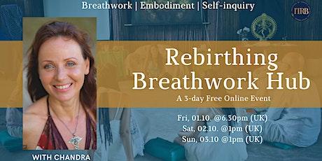 3 day Rebirthing Breathwork Hub biglietti