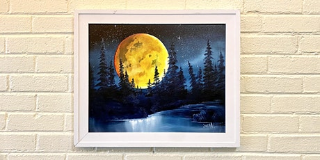 Harvest Moon Oil Painting tickets