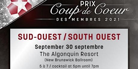 Prix Coup de cœur du Sud-Ouest tickets