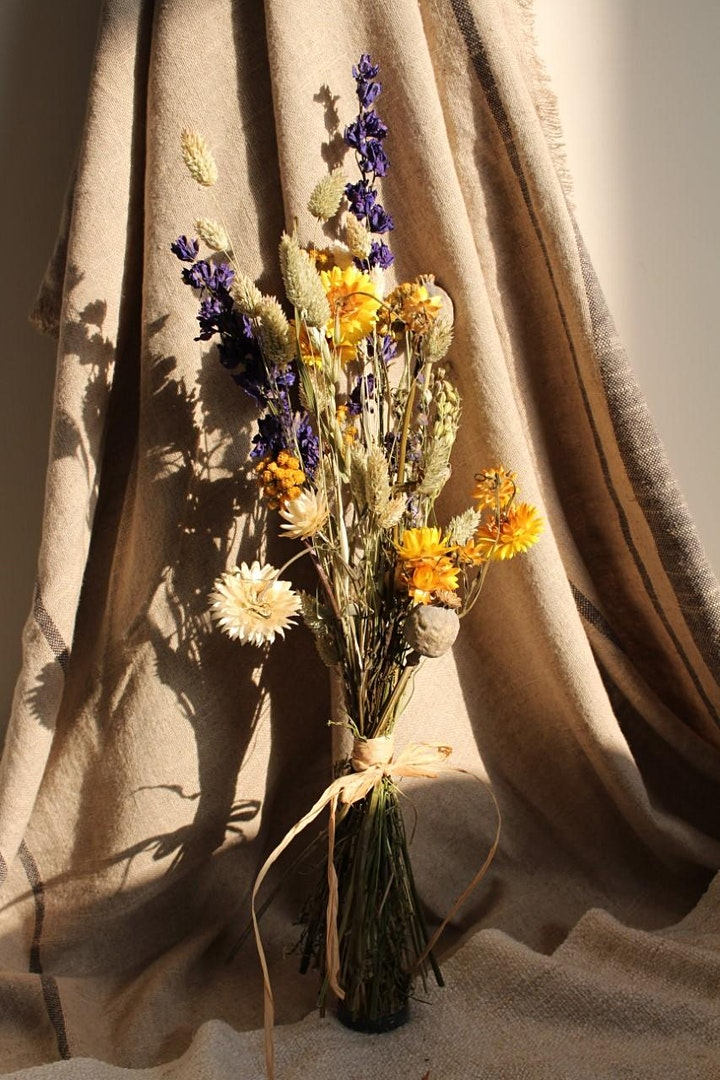 Samhain Dried Flower Workshop with Oonagh Thorn image