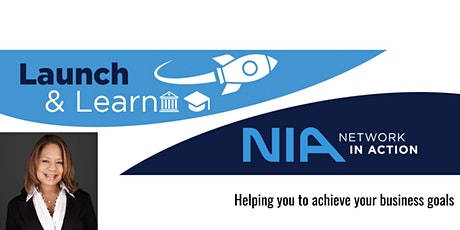 Launch 'n Learn with NIA - Tuesday, September  28th @ 3:30pm tickets