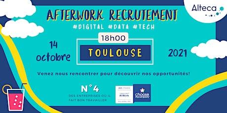 Afterwork Recrutement Toulouse | 14 Octobre à 18h00 billets