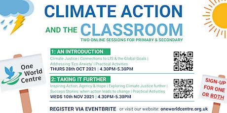 Climate Action and the Classroom:  Taking It Further tickets