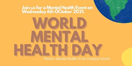 World Mental Health Day -Presented by Adhar Project tickets