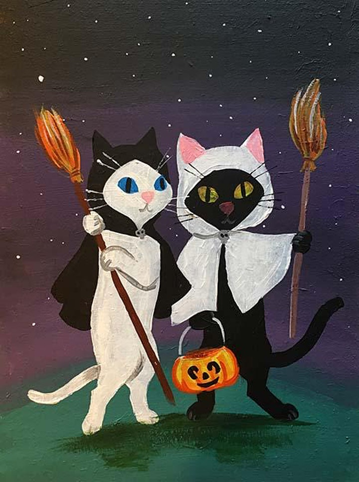 Easely Does It - Trick Or Treat Cats- with Toni + 14 day recording image
