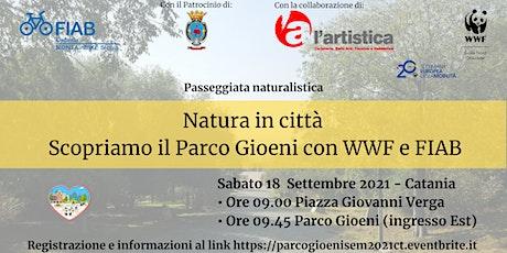 Natura in città - Scopriamo il Parco Gioeni con WWF e FIAB biglietti
