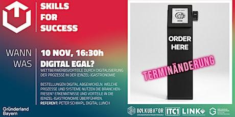 GZDN Skills for Success | Digital egal? Tickets