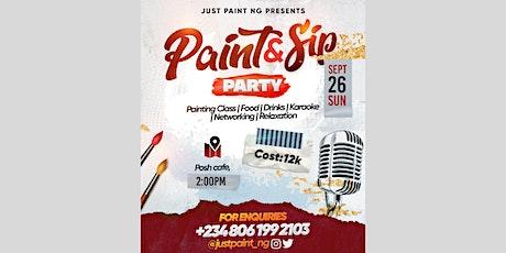 Paint, Sip & Karaoke Party tickets