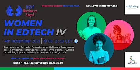 """Women in EdTech IV - Online Pitch Night"" entradas"