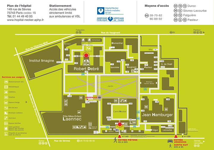 Image pour Journée Portes Ouvertes - service ORL - Hôpital Necker