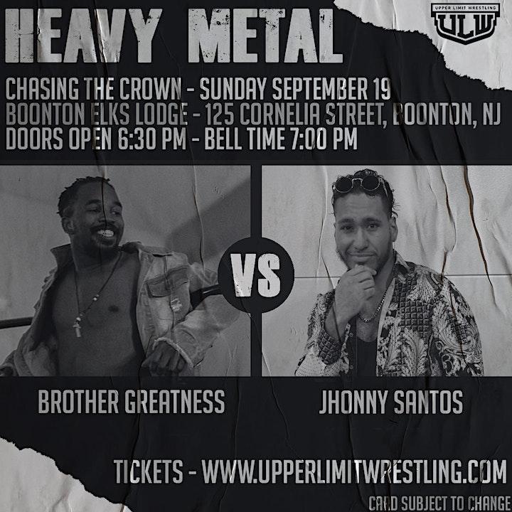 Upper Limit Wrestling - Heavy Metal image