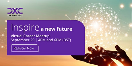 Inspire a New Future - Virtual Career Meet Up (SESSION 2: 6pm) tickets
