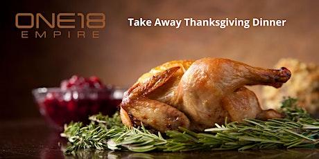 Take Away Thanksgiving Turkey Dinner tickets