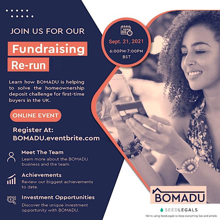 BOMADU Fundraising Launch image