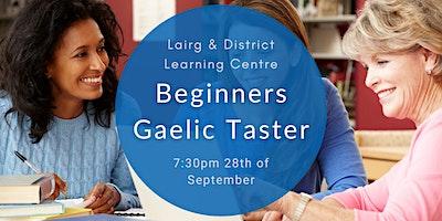 Beginners Gaelic Taster