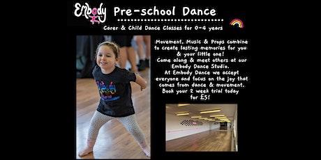 Pre-School Dance Class 2 Week Taster tickets