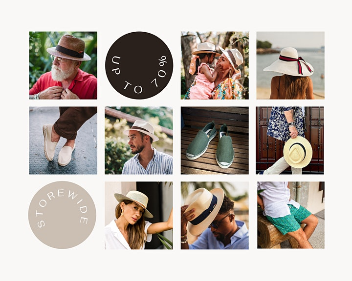 HAT OF CAIN ANNUAL SALE 22-29 SEPT image