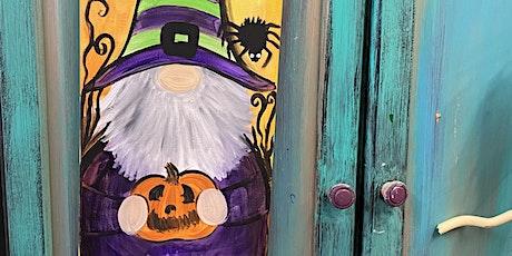 Halloween Gnomey Paint Night tickets