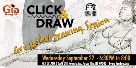 """CLICK & DRAW"" Virtual Drawing Class tickets"