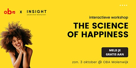 The Science of Happiness | Interactieve Workshop tickets