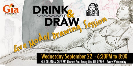 """""""Drink & Draw"""" Live Model Drawing Session tickets"""