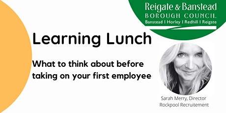 October Learning Lunch - Taking on your first employee tickets