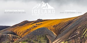 "Vernissage Exposition Photo ""Iceland, between light..."
