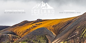 """Vernissage Exposition Photo """"Iceland, between light..."""