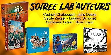 Soirée Lab'auteurs billets