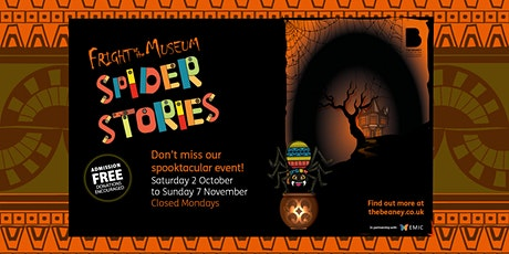 Fright at the Museum: Spider Stories Trail Pre-Order tickets