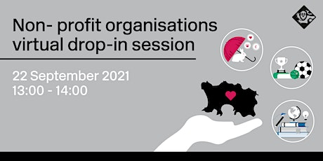 Non-profit organisations -  drop-in session tickets