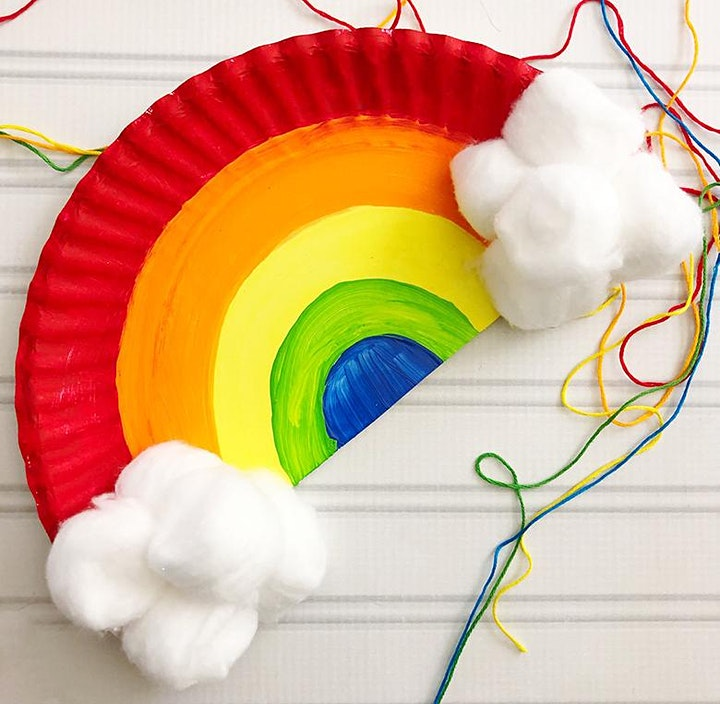 Manualidade de arco - Recomendado para jóvenes de 3 a 7 años. image