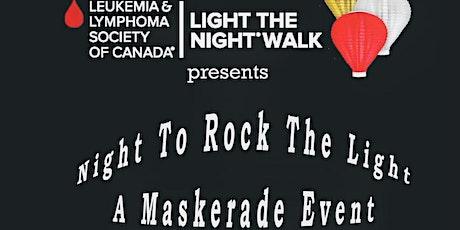 Rock the Light Three a Mask-Erade  Ball billets
