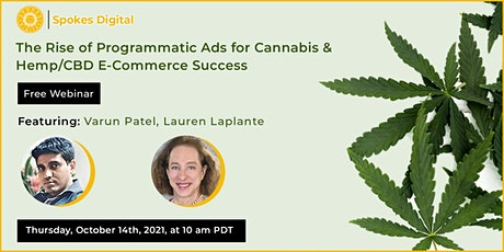 The Rise of Programmatic Ads for Cannabis & Hemp/CBD E-Commerce Success tickets