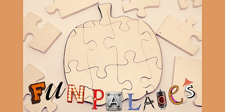 Autumnal Shaped Puzzle Decoration with FabLab Barnstaple's Fun Palaces tickets