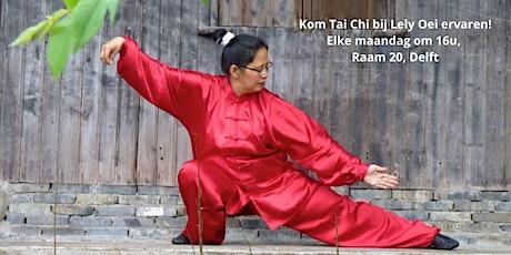 Kom een les bij Tai Chi Delft ervaren! tickets