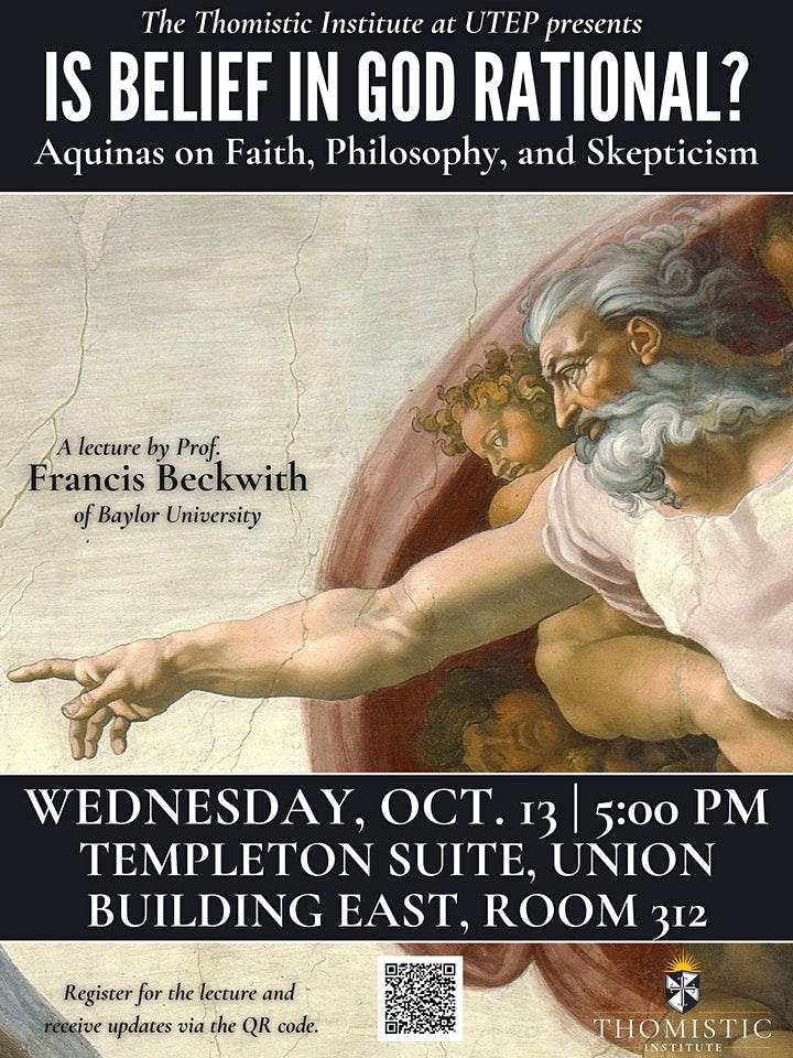 Is Belief in God Rational? Aquinas on Faith, Philosophy, and Skepticism image