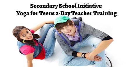 Yoga for Teens 2-Day Teacher Training tickets
