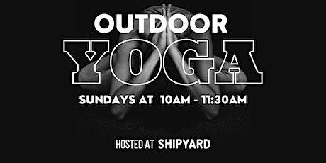 Sunday Morning Outdoor Yoga tickets