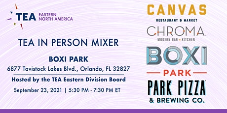 TEA Eastern Division In-Person Mixer at Boxi Park tickets