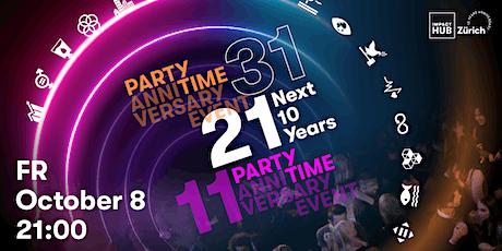 Next 10 Years – Impact Hub Zürich 10 Years Anniversary Party tickets
