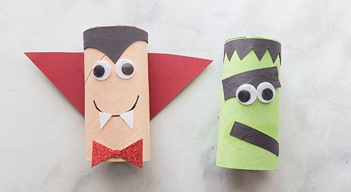 Manualidad de Halloween - Recomendado para jóvenes de 3 a 10 años. image